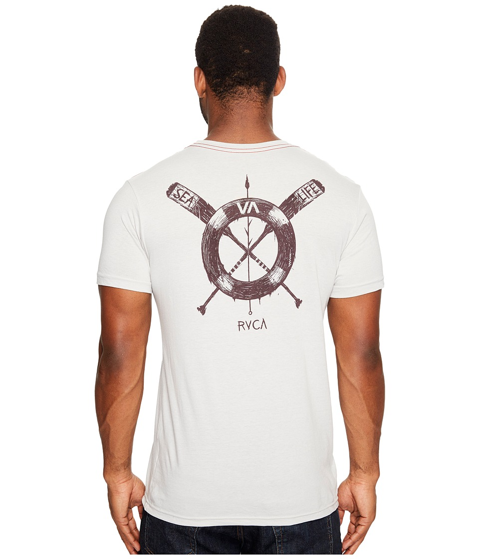 RVCA - Sea Life Tee (Warm Grey) Men's T Shirt