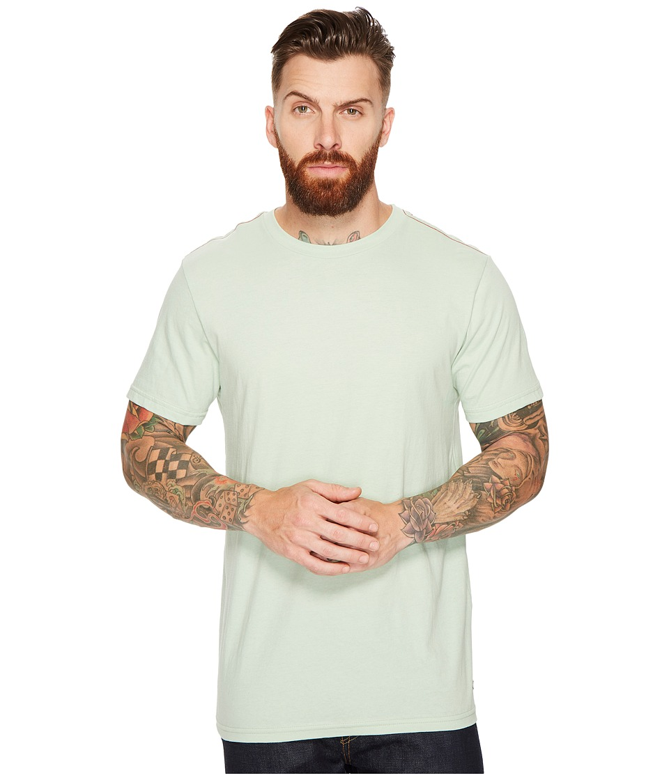 RVCA - Vintage Wash Label Tee (Smoke Green) Men's T Shirt