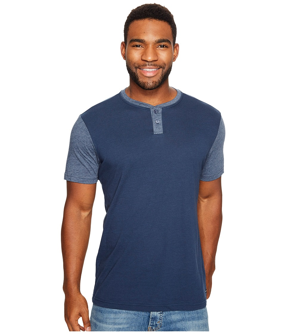 RVCA - Pick Up Knit (Federal Blue) Men's Clothing
