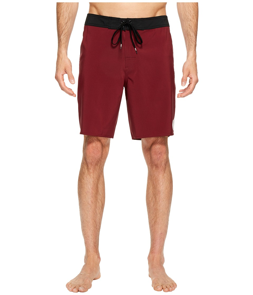 RVCA - VA Trunk (Tawny Port) Men's Swimwear