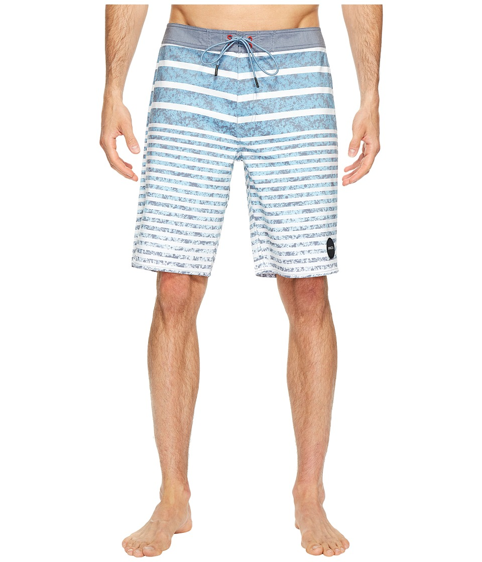 RVCA - Stack Em Trunk (Federal Blue) Men's Swimwear
