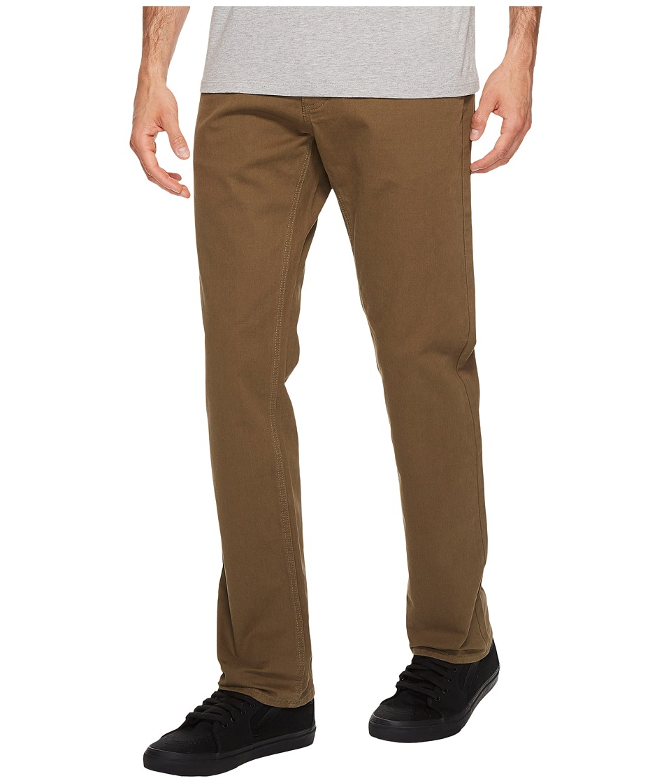 RVCA - Stay RVCA Pant (Burnt Olive) Men's Casual Pants