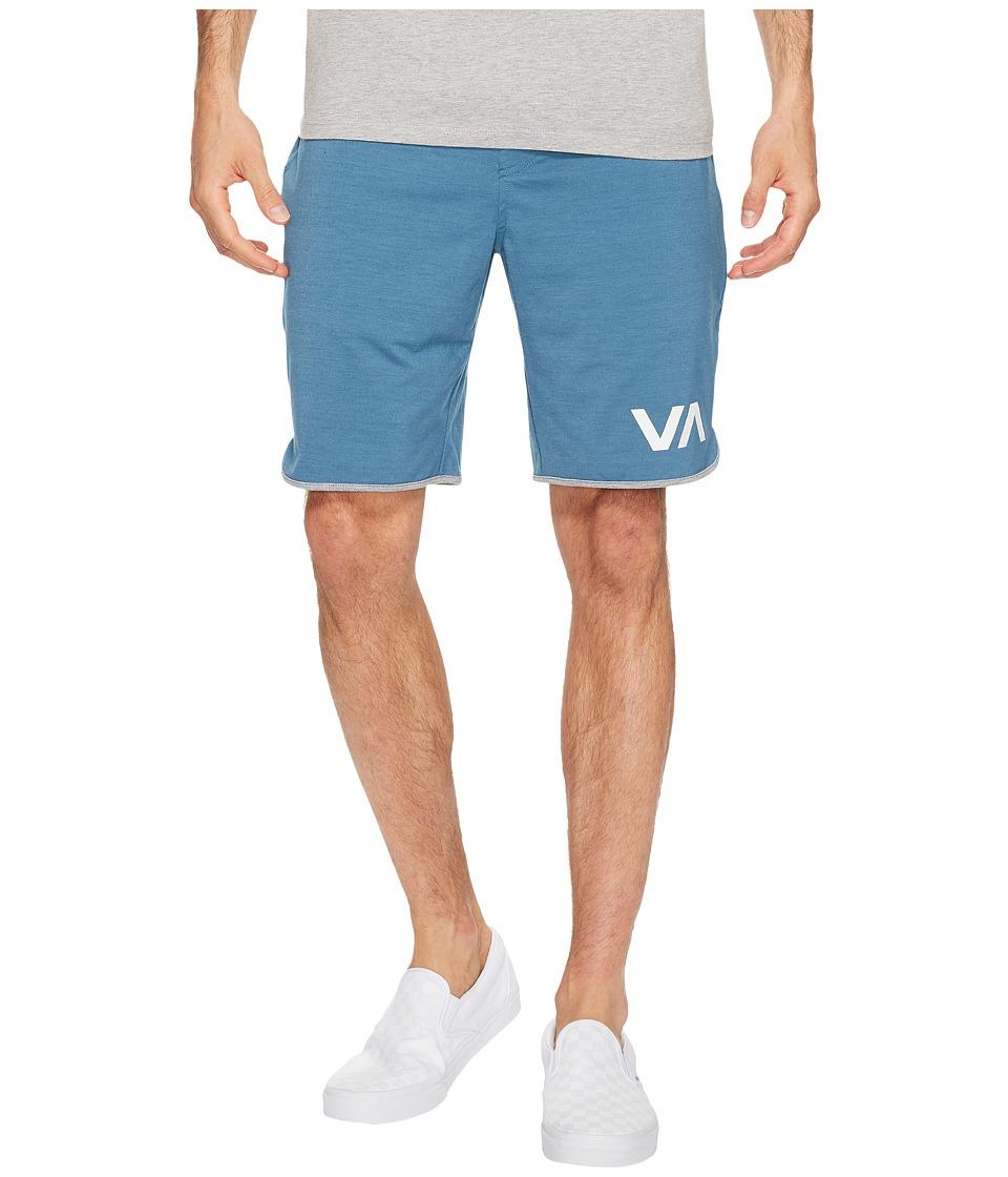 RVCA - VA Sport Shorts II (Desert Blue) Men's Shorts