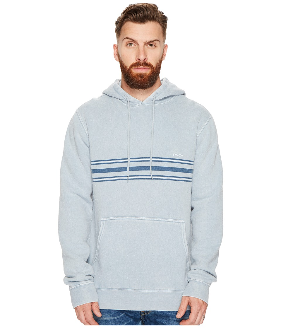 RVCA - Seven Stripe Fleece (Arona Blue) Men's Sweatshirt