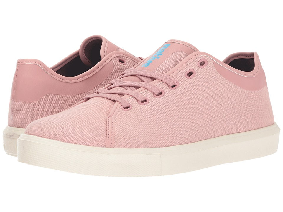 Native Shoes Monaco Low (Chameleon Pink Wax/Bone White) Lace up casual Shoes