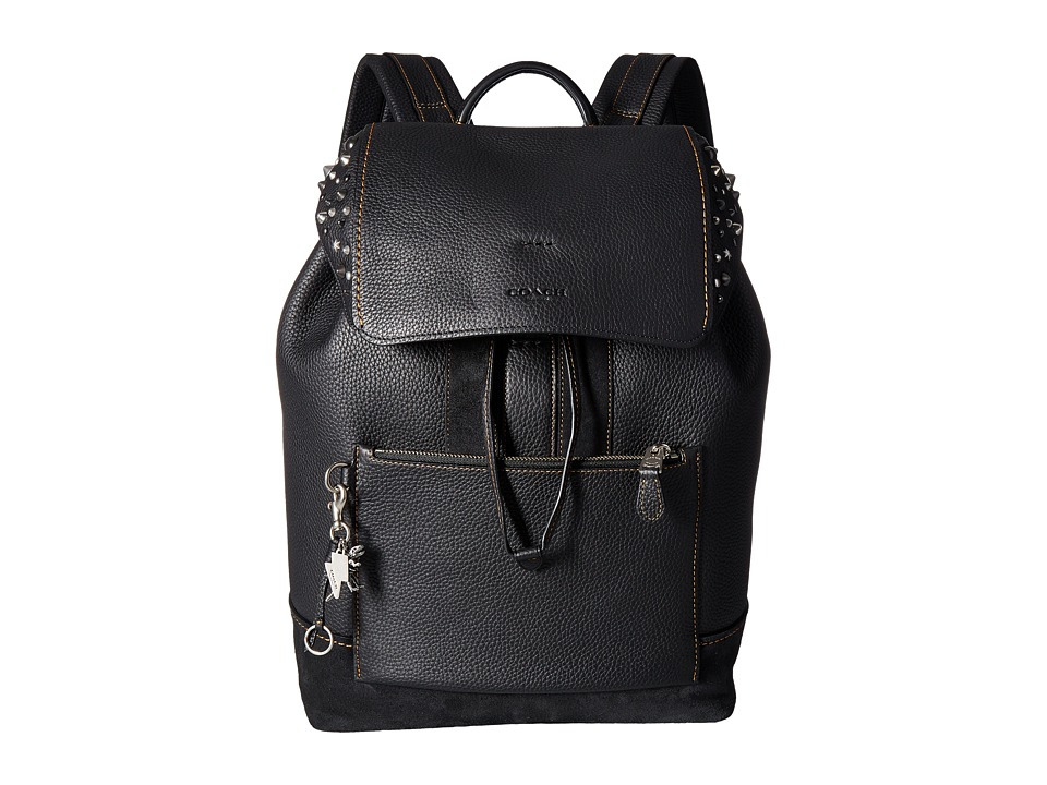 COACH - Manhattan Backpack (AK/Black) Backpack Bags