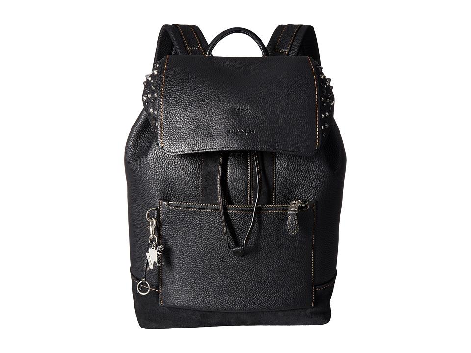 COACH - Manhattan Backpack (AK/Black) Backpack Bags