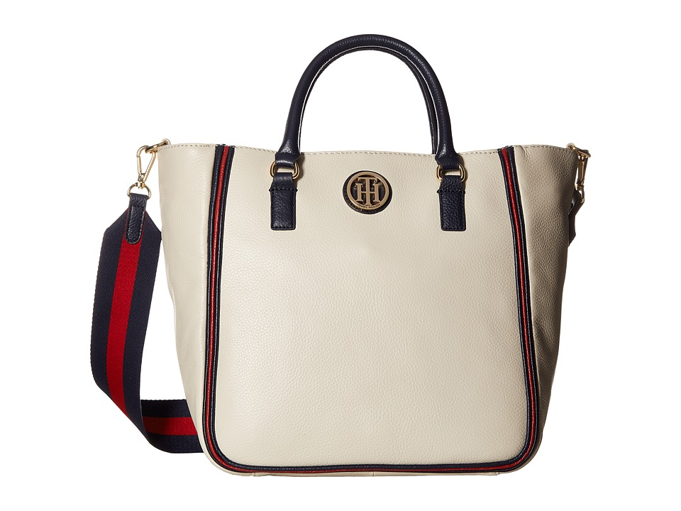 Tommy Hilfiger - Alice Pebble Shopper (Oatmeal) Handbags