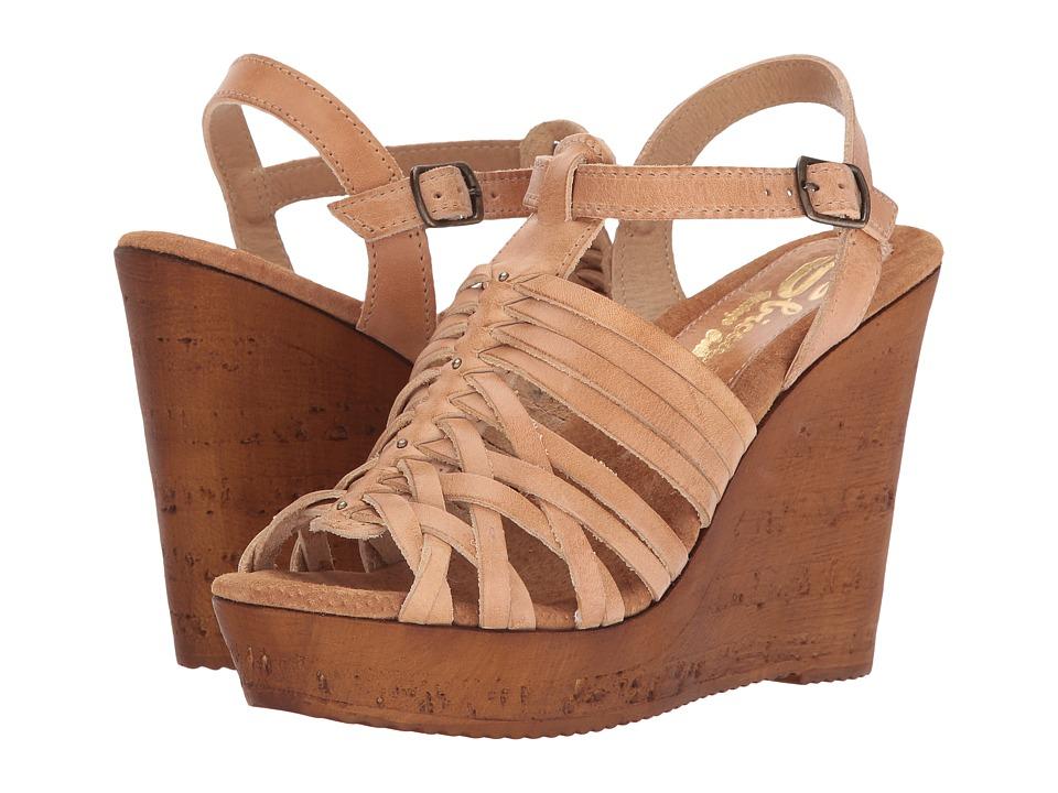 Sbicca - Jimena (Tan) Women's Wedge Shoes