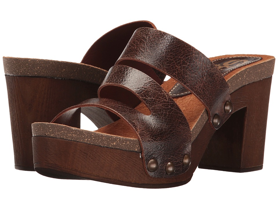 Sbicca - Moxie (Brown) High Heels
