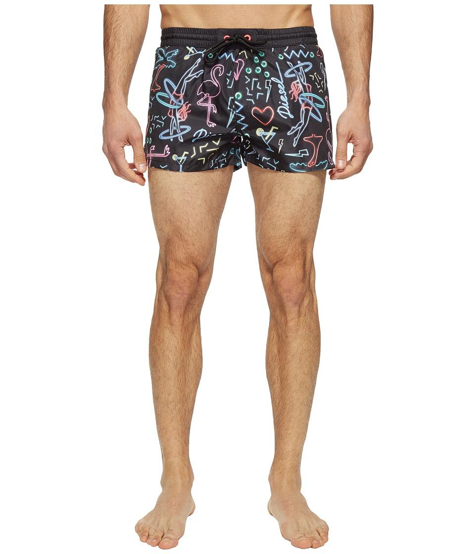 Diesel - Sandy Shorts IANS (Black/Multi) Men's Swimwear