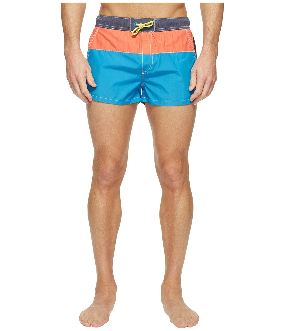 Diesel Caybay Short Swim Boxer Shorts KANW (Mediterranian Blue) Men