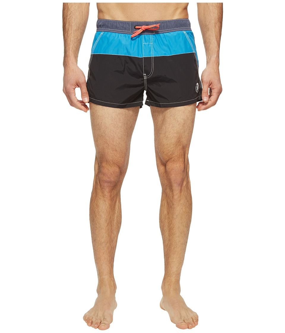 Diesel - Caybay Short Swim Boxer Shorts KANW (Black) Men's Swimwear