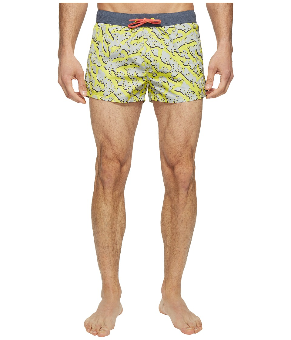 Diesel Caybay Short Shorts LANS (Grey/Multi) Men