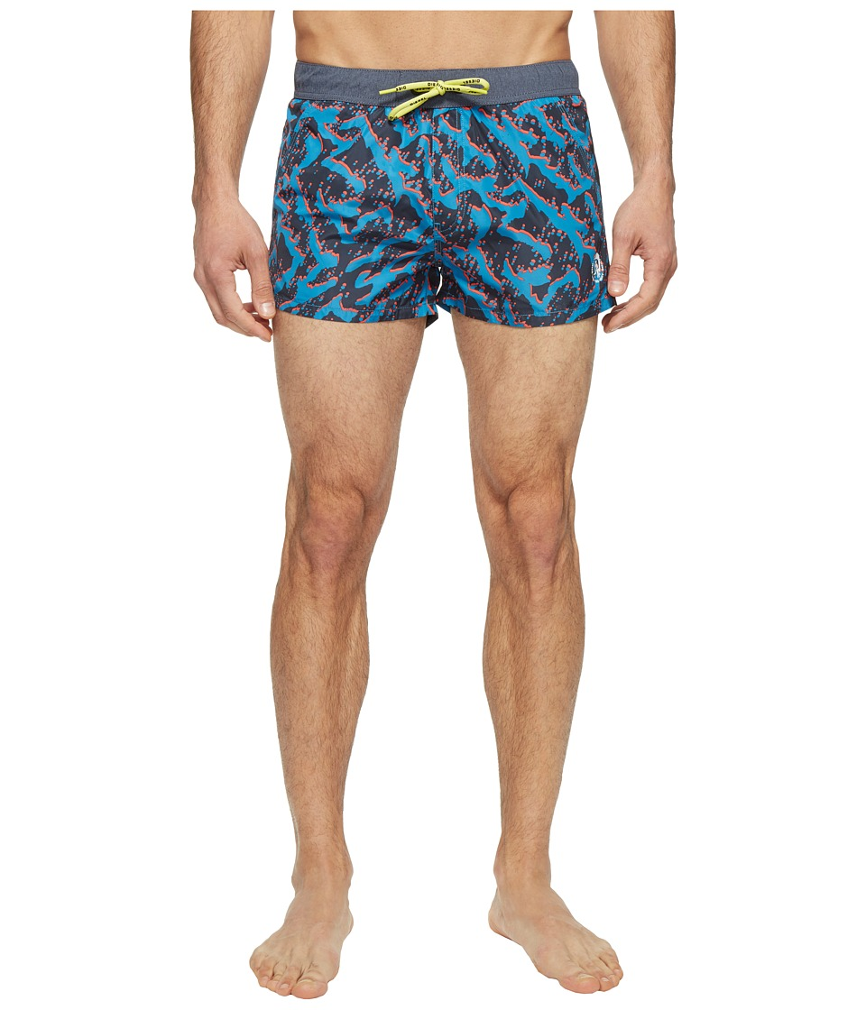 Diesel - Caybay Short Shorts LANS (Blue/Black) Men's Swimwear
