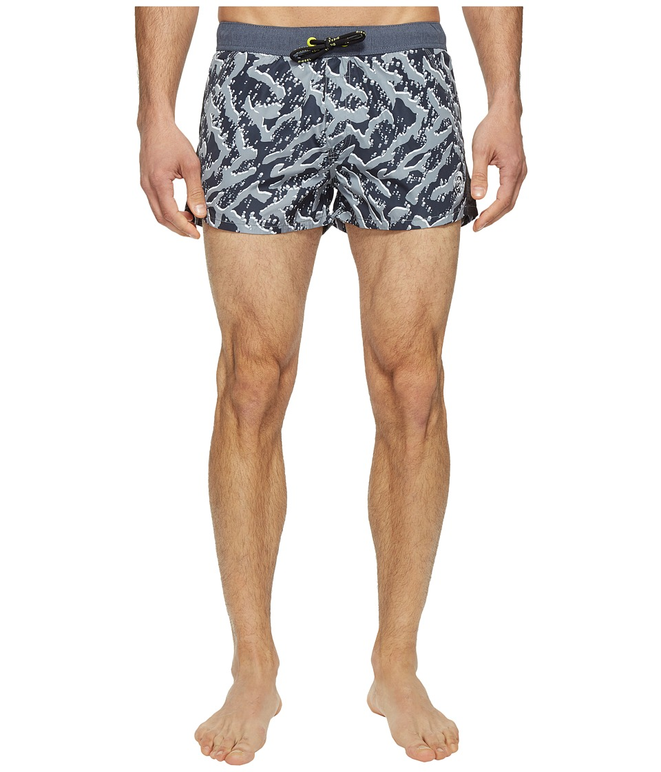 Diesel - Caybay Short Shorts LANS (Black/White) Men's Swimwear