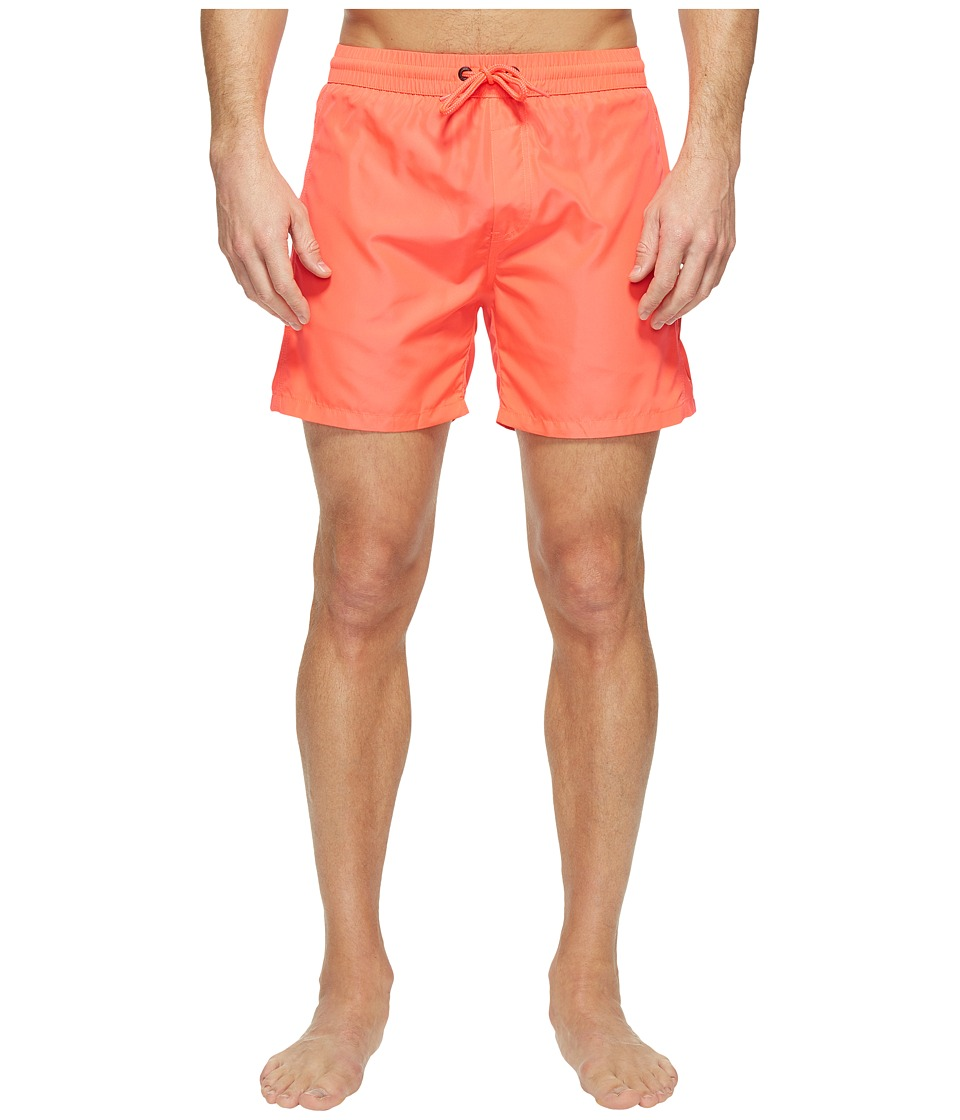 Diesel Wave FoldGo Quick Dry Light Microfiber 6 in Swim Shorts w/ Diesel Logo KAKV (Pink) Men