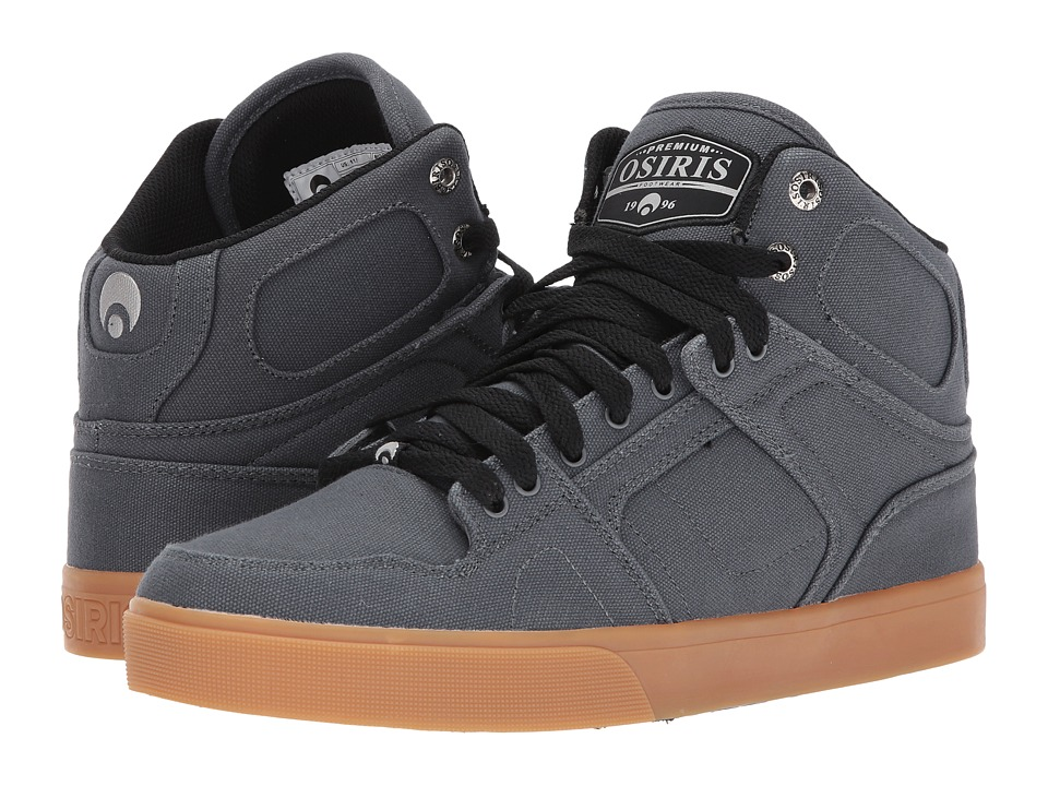 Osiris - NYC 83 DCN (Charcoal/Gum) Men's Shoes