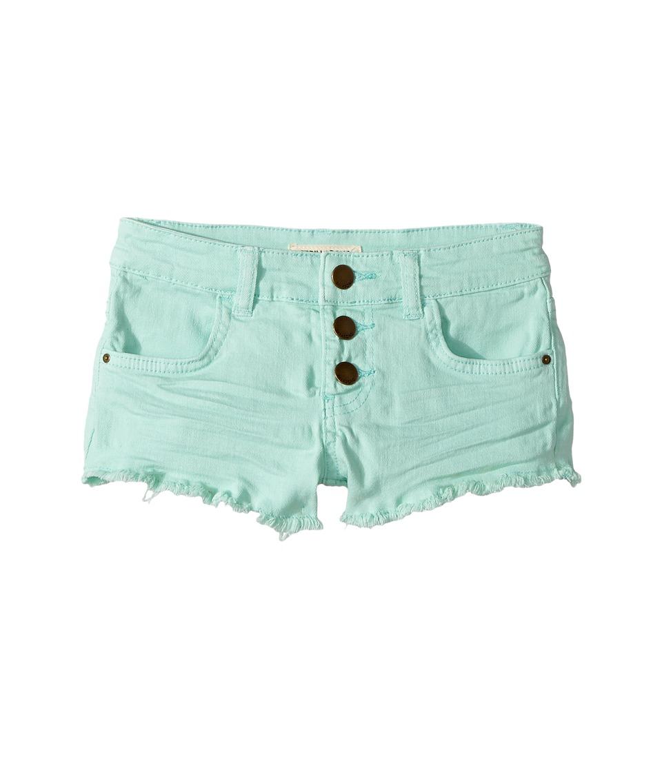 Billabong Kids - Buttoned Up Shorts (Little Kids/Big Kids) (Beach Glass) Girl's Shorts
