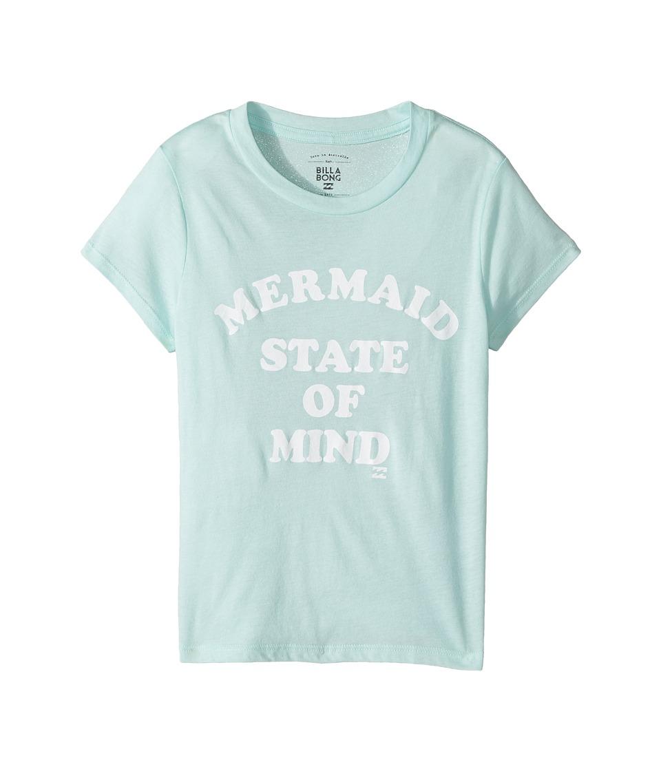 Billabong Kids - State of Mind Tee (Little Kids/Big Kids) (Beach Glass) Girl's T Shirt