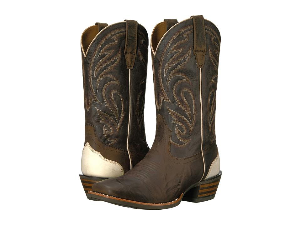 Ariat Fire Creek (Branding Iron Branqus/Dark Desert) Cowboy Boots