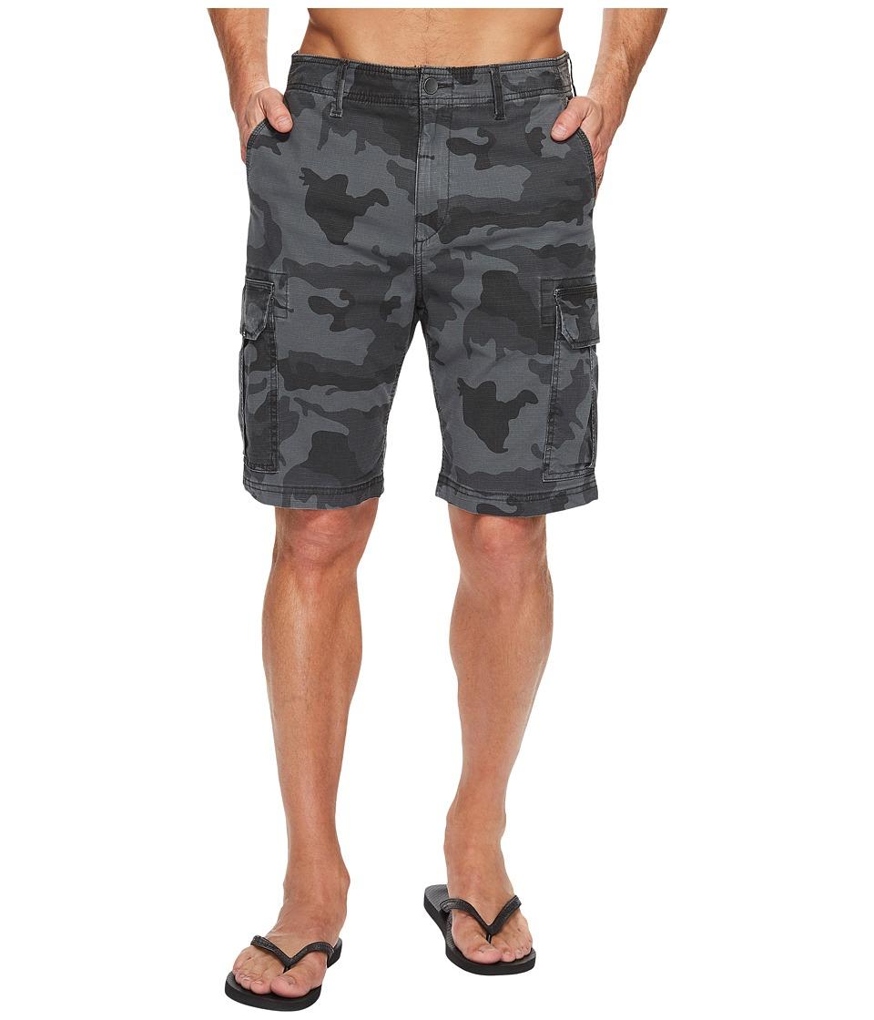 Billabong - Scheme Walkshorts (Black Camo) Men's Shorts