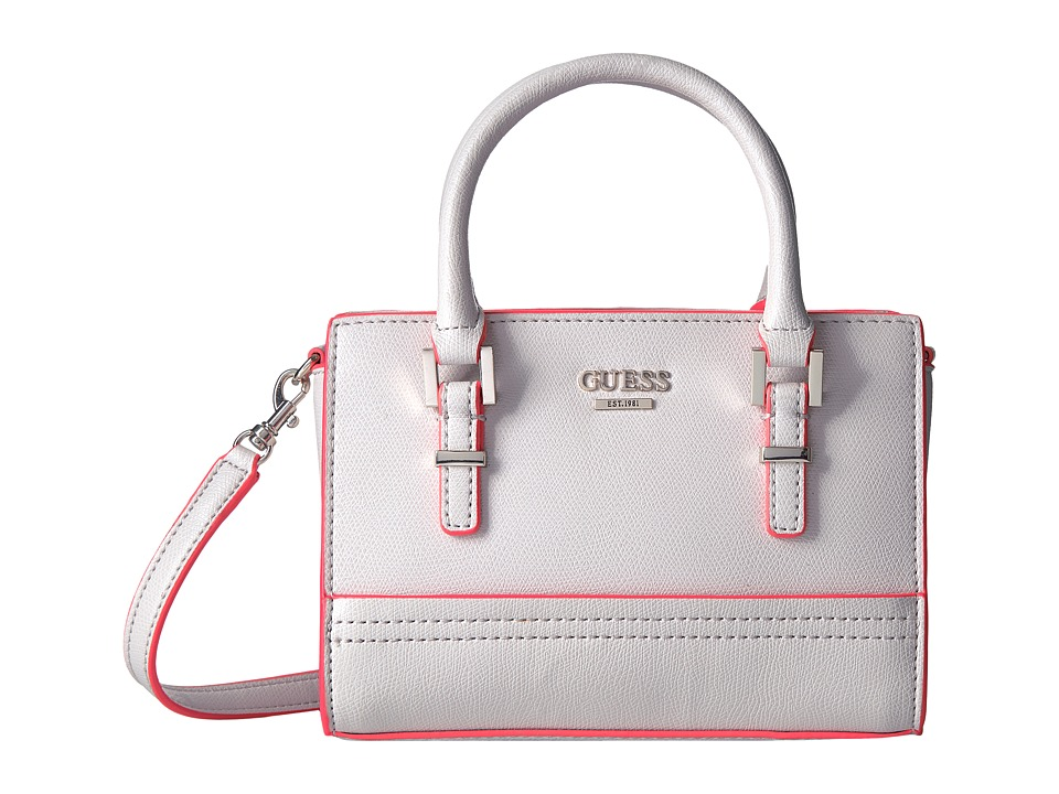 GUESS - Devyn Petite Satchel (Nude) Satchel Handbags