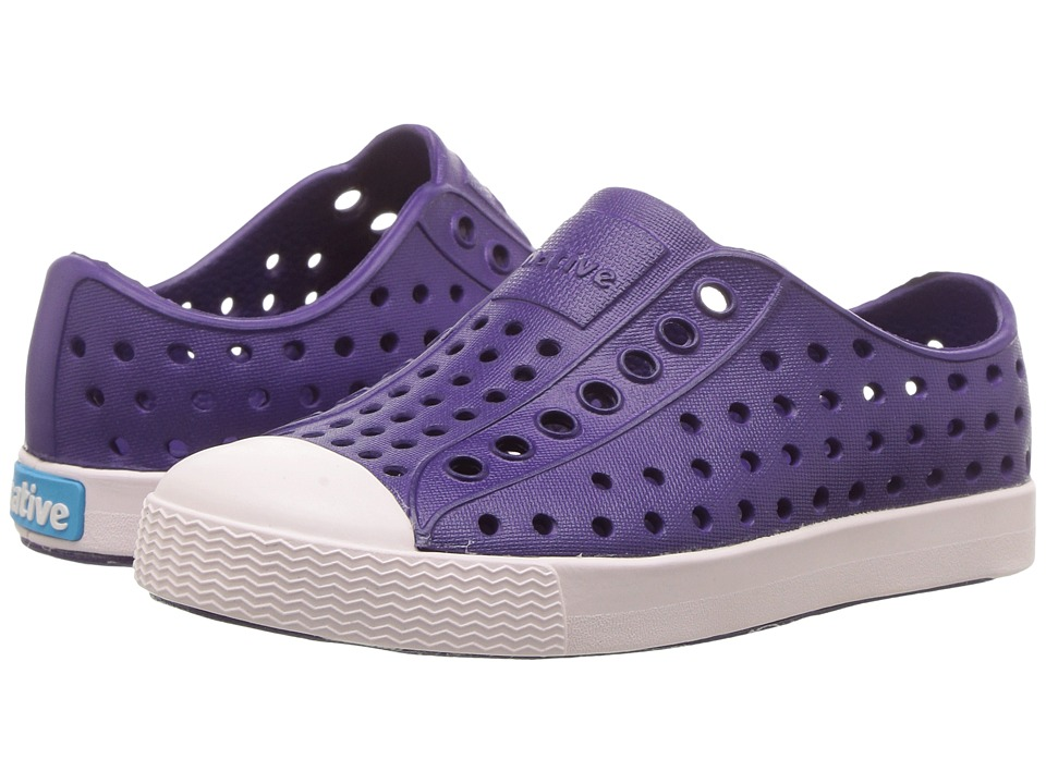 Native Kids Shoes - Jefferson (Toddler/Little Kid) (Beetle Purple/Milk Pink) Girls Shoes