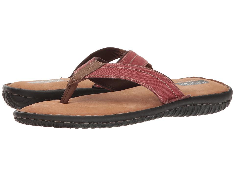 Florsheim - Coastal Thong (Red) Men's Shoes
