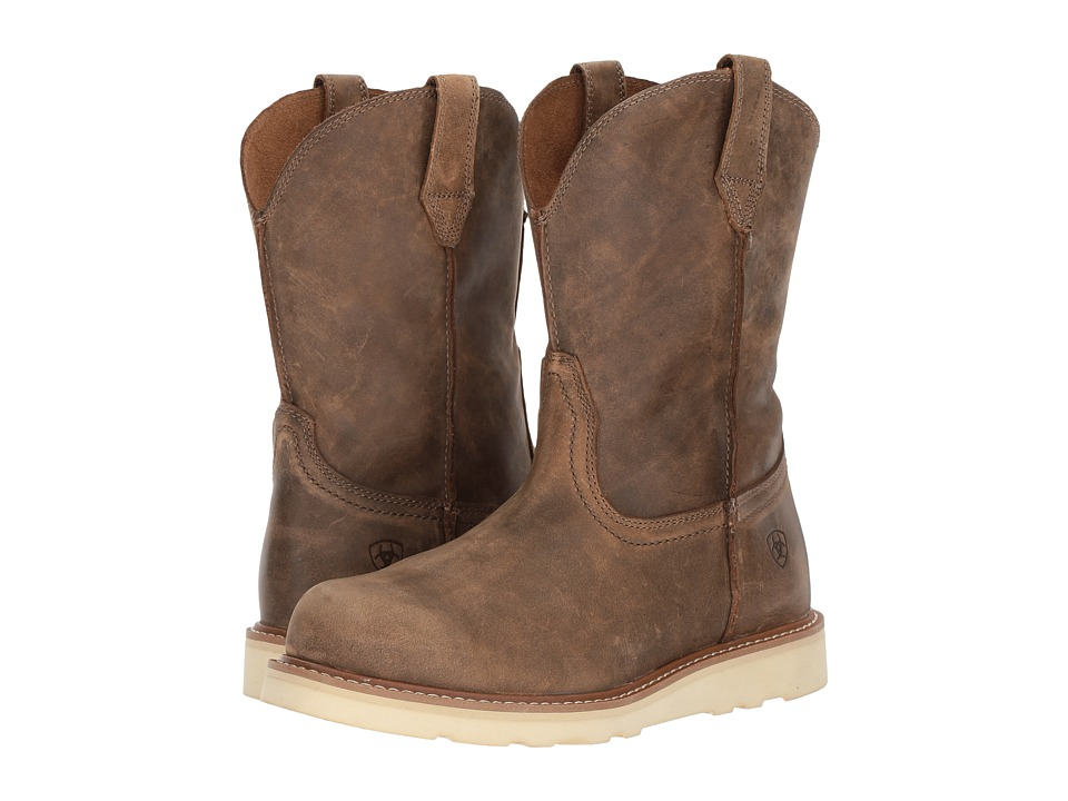 Ariat Rambler Recon Round Toe (Brown Bomber) Cowboy Boots