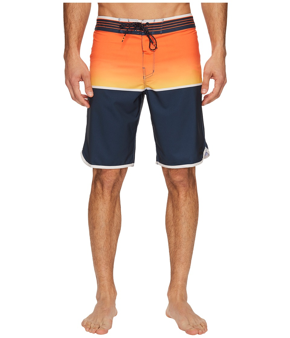 Billabong - Fifty 50 X Boardshorts (Orange) Men's Swimwear