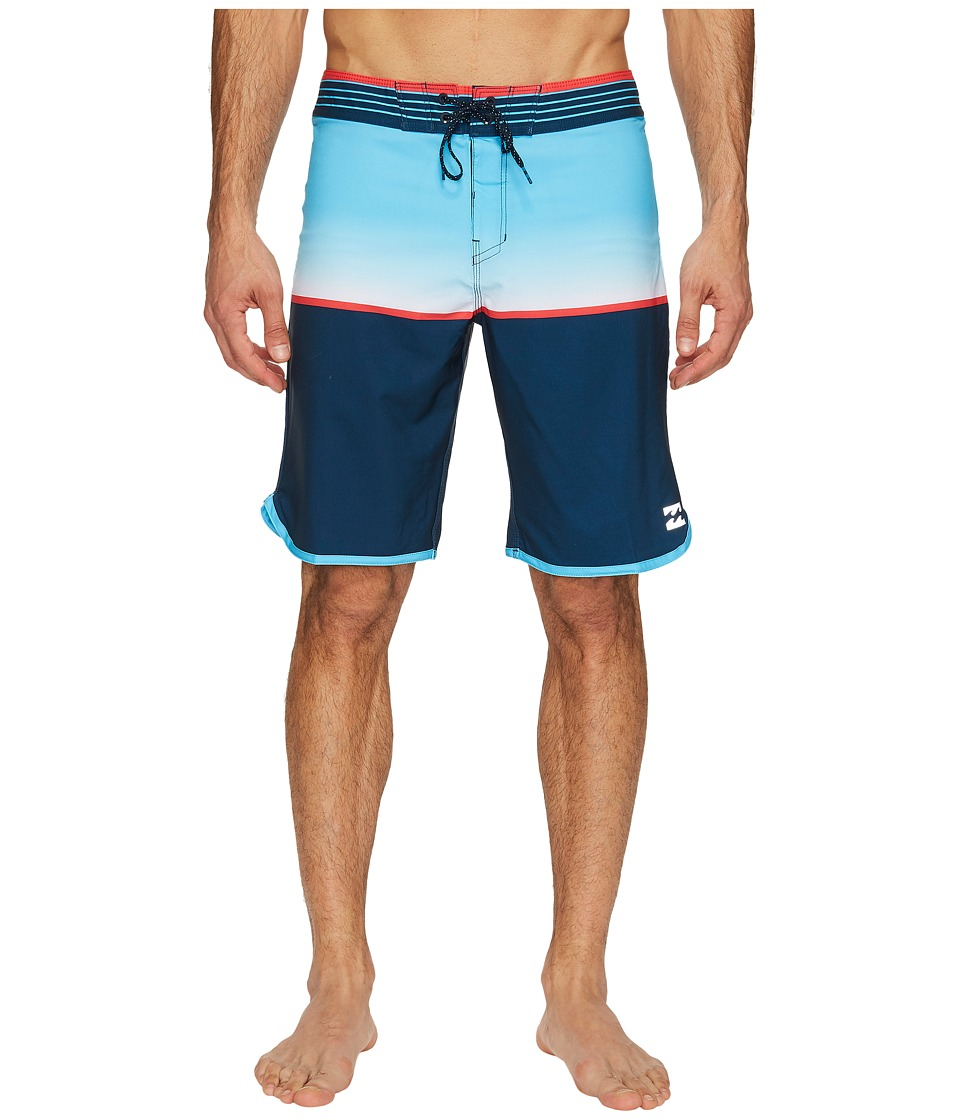Billabong - Fifty 50 X Boardshorts (Blue) Men's Swimwear