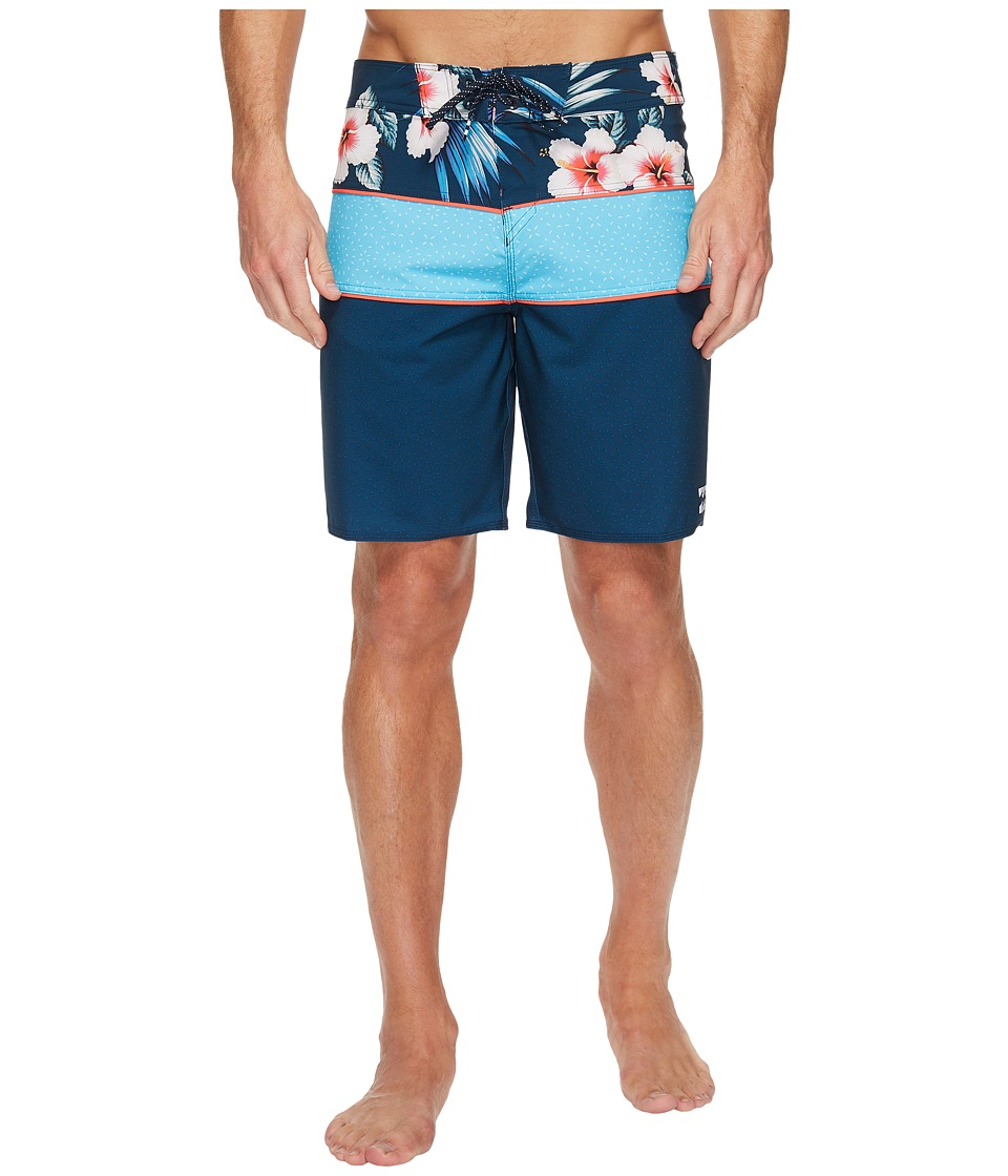 Billabong - Tribong X Holidaze Boardshort (Navy) Men's Swimwear