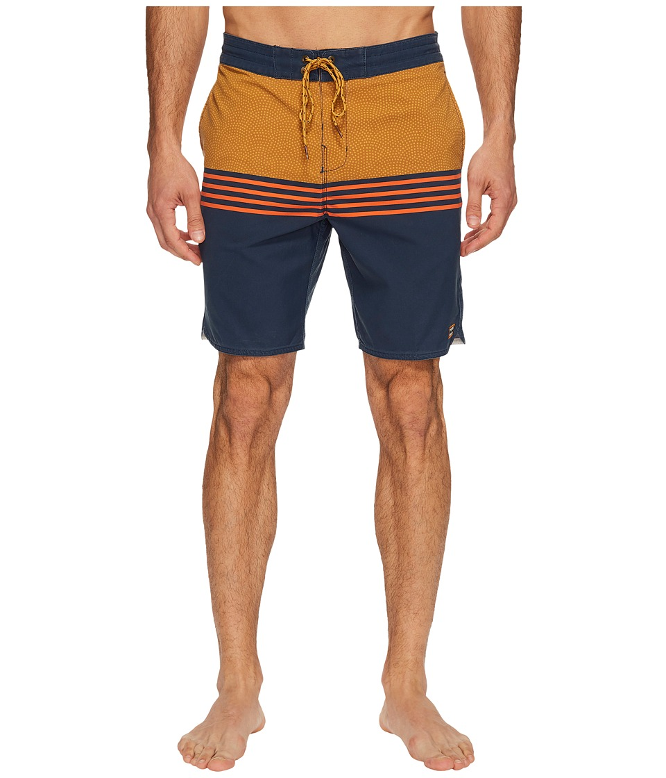 Billabong Fifty 50 Lo Tide Boardshorts (Indigo) Men