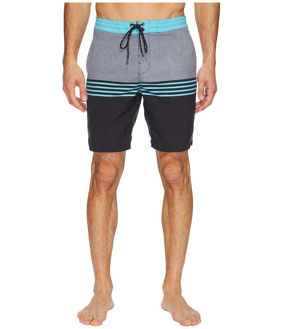 Billabong - Fifty 50 Lo Tide Boardshorts (Black) Men's Swimwear