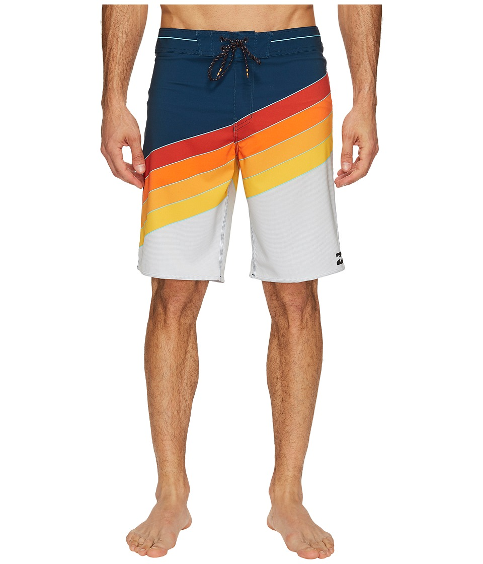 Billabong - Northpoint X Boardshorts (Orange) Men's Swimwear