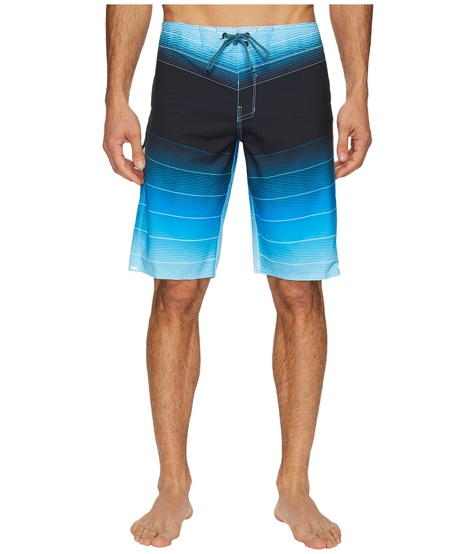 Billabong - Fluid X Boardshorts (Blue) Men's Swimwear
