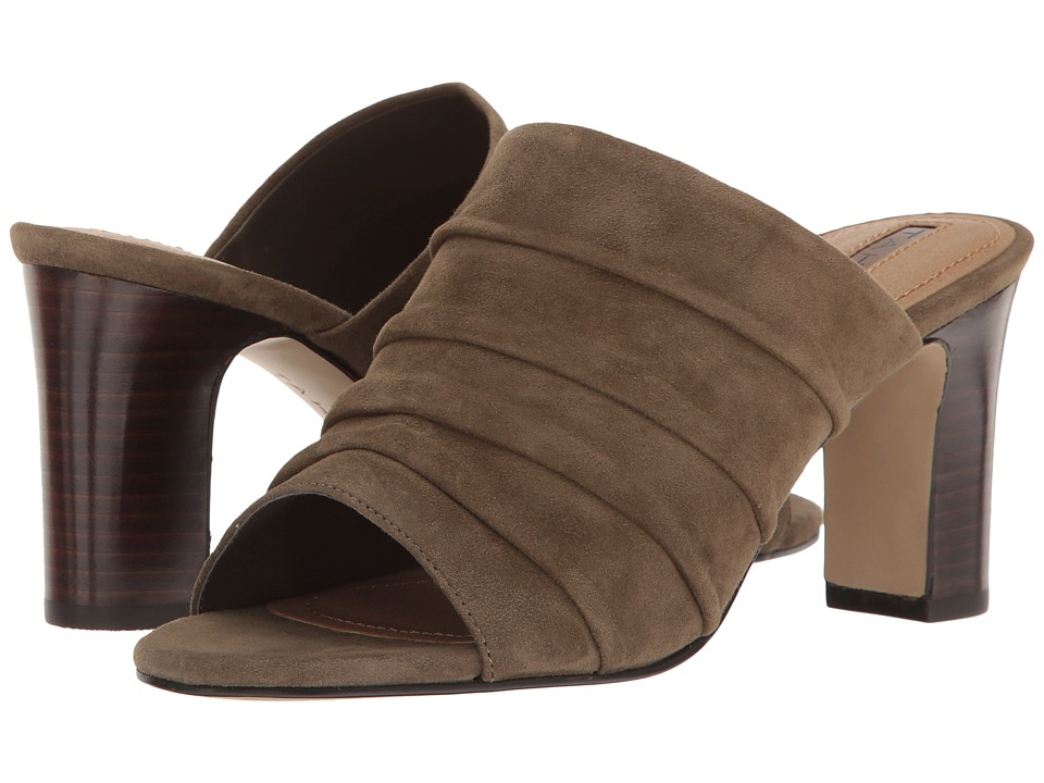Tahari - Ariana (Olive Suede) High Heels