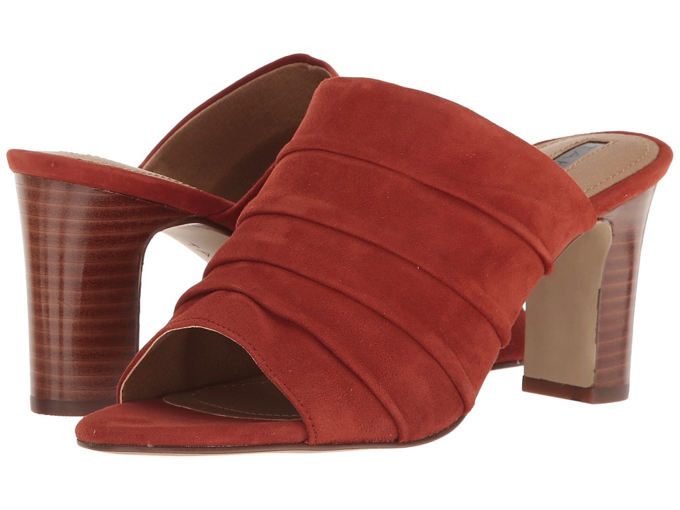 Tahari - Ariana (Red Adobe Suede) High Heels