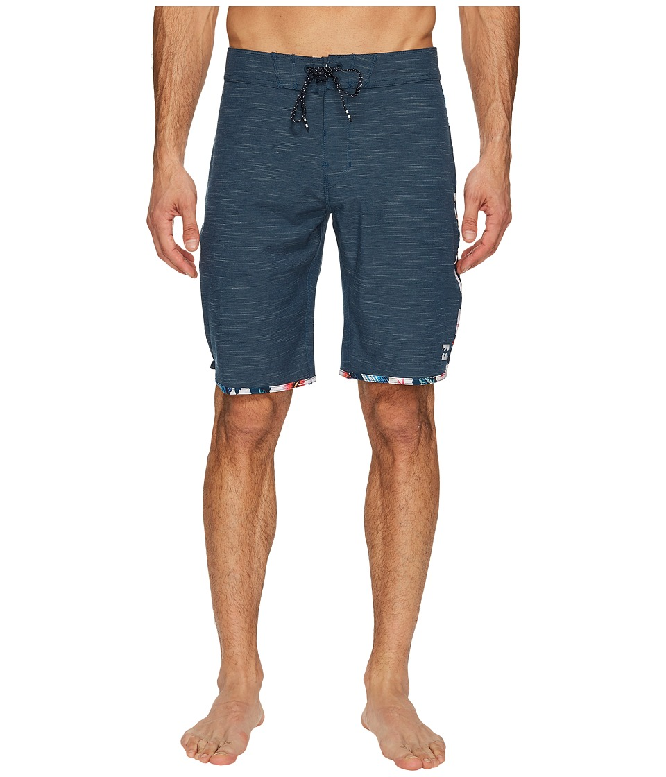 Billabong - 73 X Boardshorts (Navy) Men's Swimwear