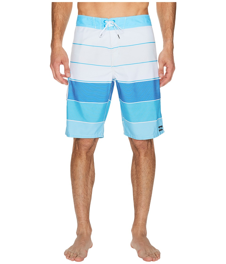 Billabong - All Day Original Stripe Boardshorts (Stone) Men's Swimwear
