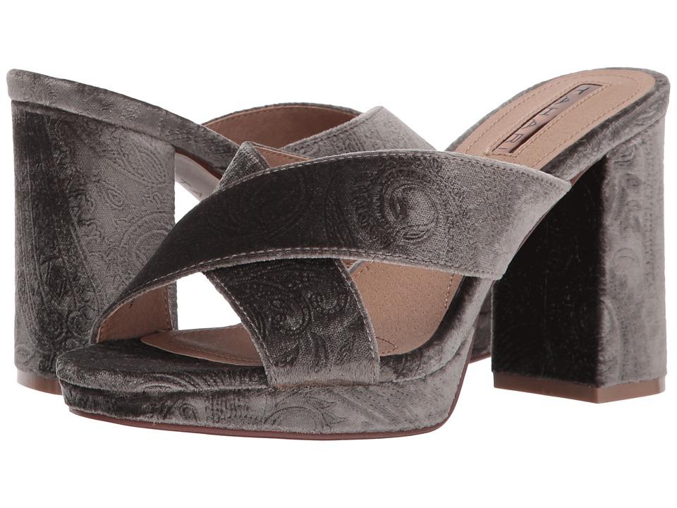 Tahari - Posey (Taupe Embossed Velvet) High Heels