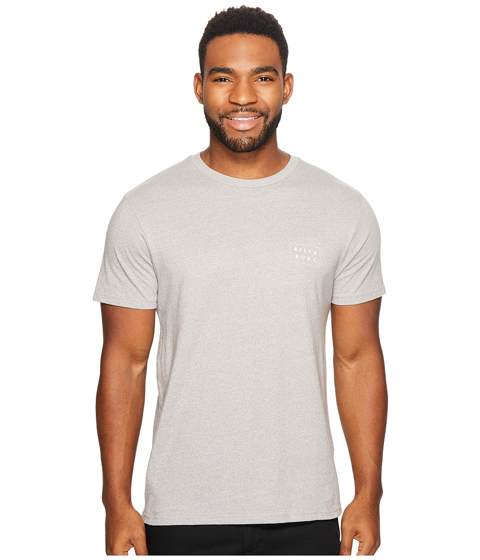 Billabong - Die Cut T-Shirt (Grey) Men's T Shirt
