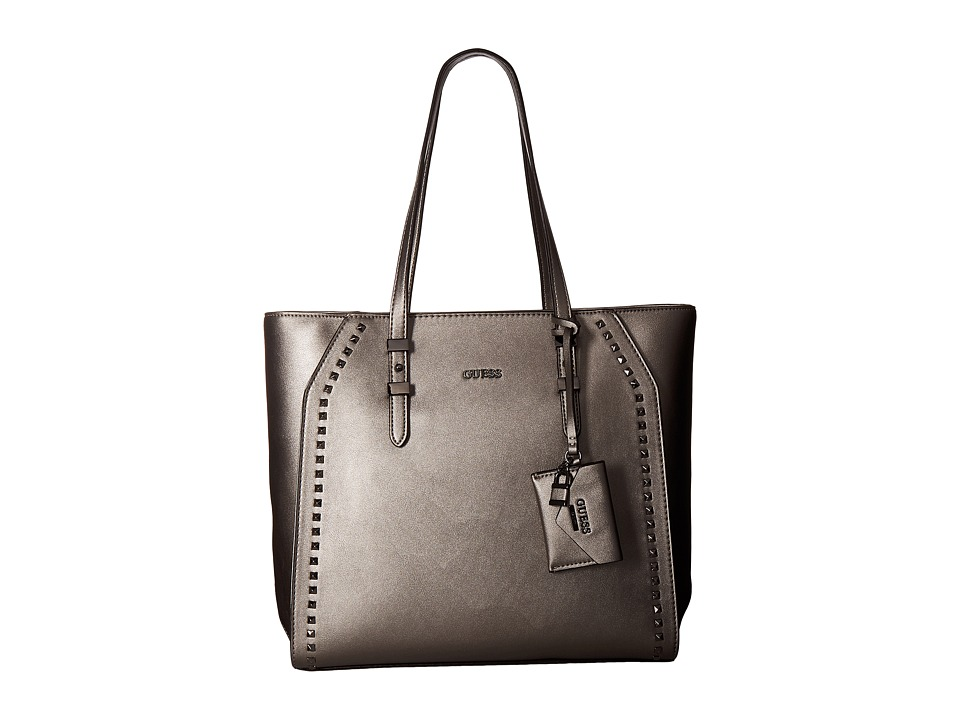 GUESS - Gia Tote (Pewter) Tote Handbags