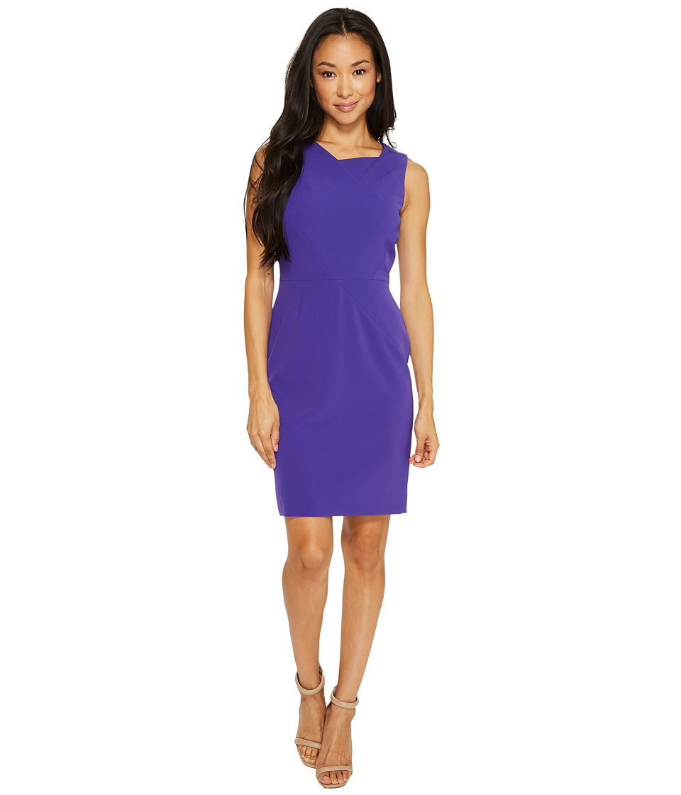 Tahari by ASL Petite Seamed Bodice Sheath Dress