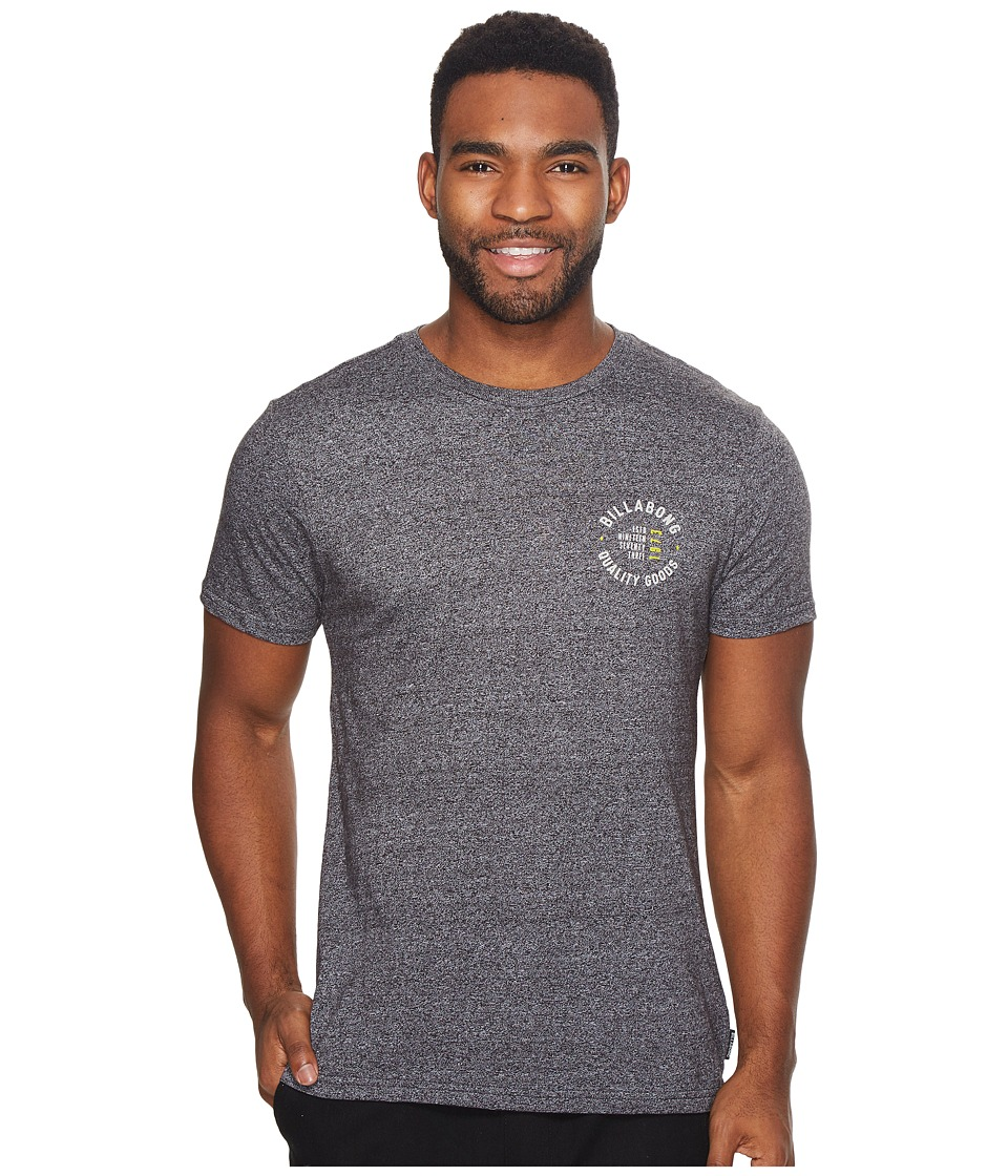 Billabong - Wallace Tee (Black) Men's Clothing