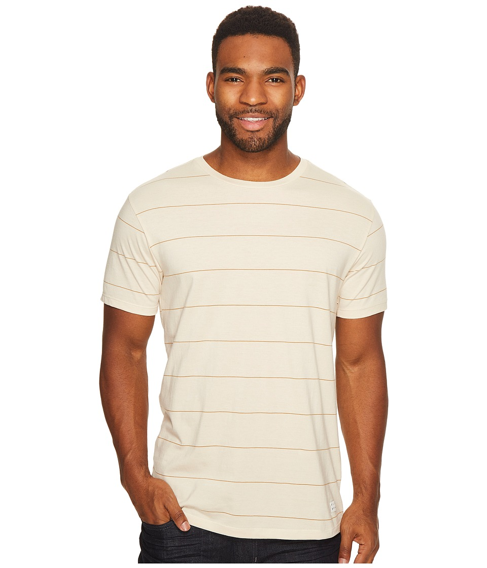 Billabong Die Cut Stripe Short Sleeve Crew Tee (Rock) Men