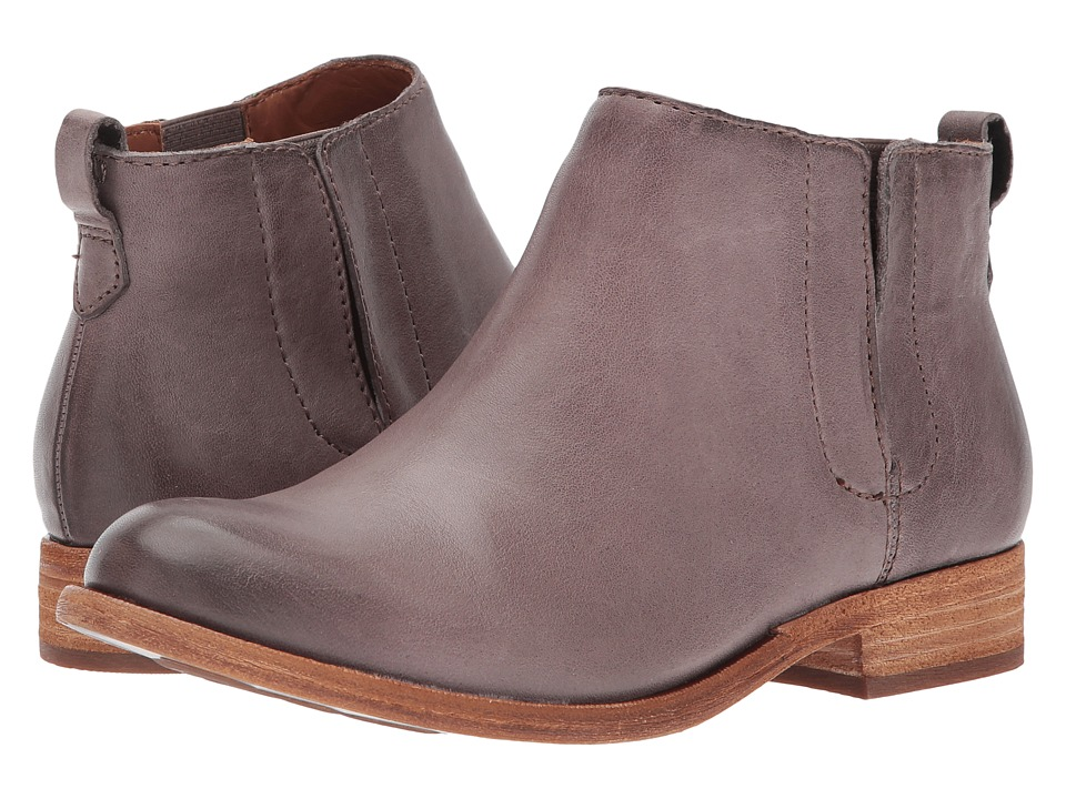 Kork-Ease Velma (Grey Full Grain Leather) Women
