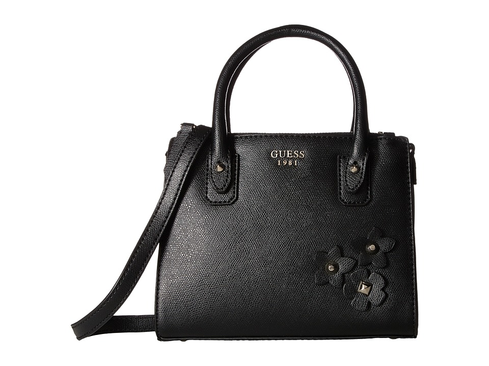 GUESS - Liya Petite Girlfriend (Black) Handbags