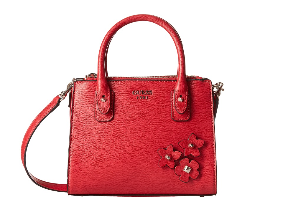 GUESS - Liya Petite Girlfriend (Red) Handbags
